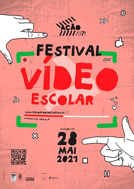 ação festival de vídeo escolar